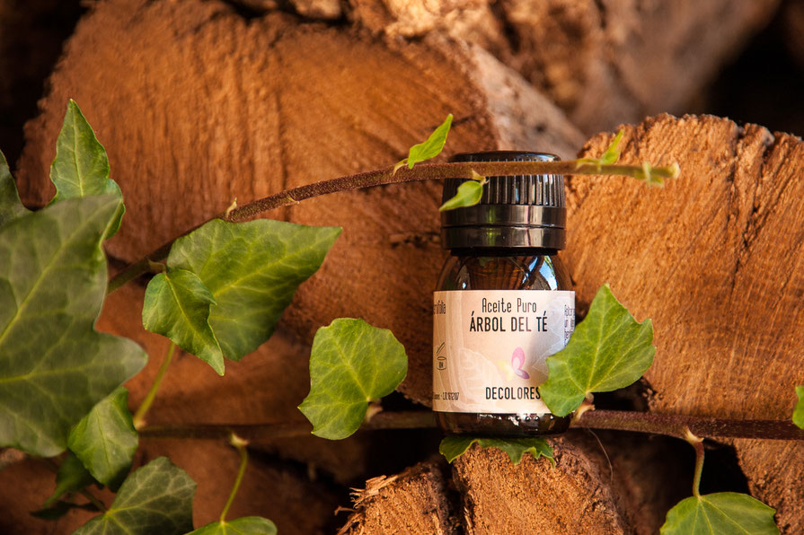 Aceite puro del árbol del té online-decoloresnatur-cosmética natural y eocológica