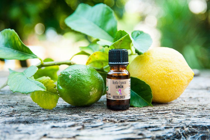 Aceite esencial de limón-decoloresnatur-tienda online cosmética natural-productos ecológicos certificados