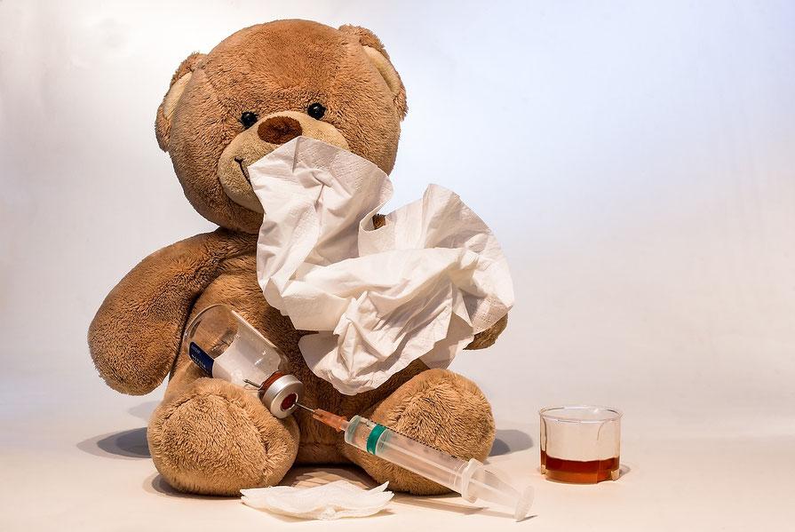 Gesundheitstipps Praxis für ärztliche Osteopathie, bei Schnupfen, Erkältungen,Heuschnupfen