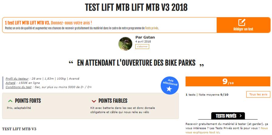 test magazine 26in lift-mtb kit V3 2018