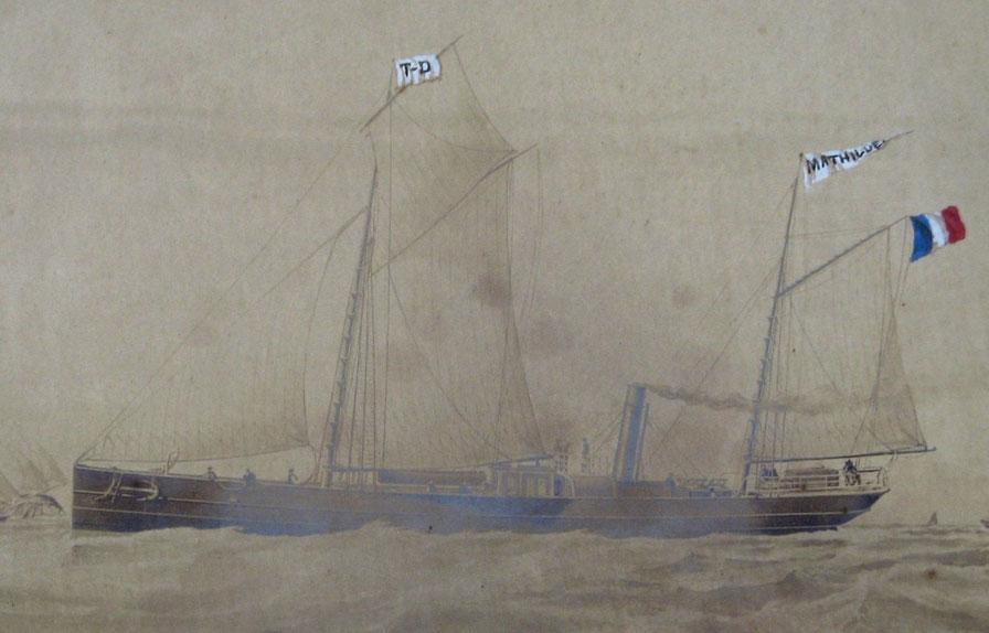 La Mathilde armée à Dunkerque