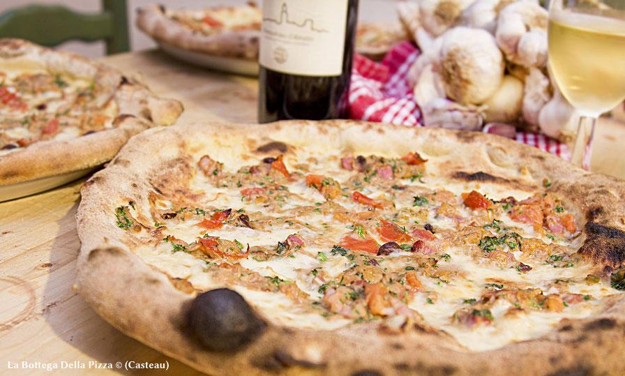 Pizza Favignana di Sicilia, à la Bottega Della Pizza, Casteau, Soignies, Mons, Hainaut, Belgique, les meilleures pizzas de la région élue par Foodprint et Kassbrik
