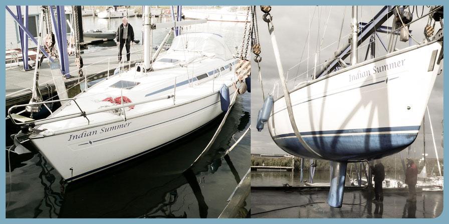Gebrauchtboot suchen und finden: Zustandsprüfung eines Bavaria Yachts 35e