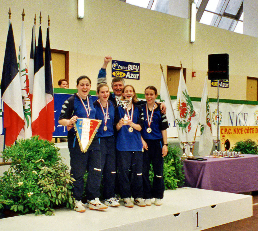 Champion de France Nationale 2  à Nice en 2002