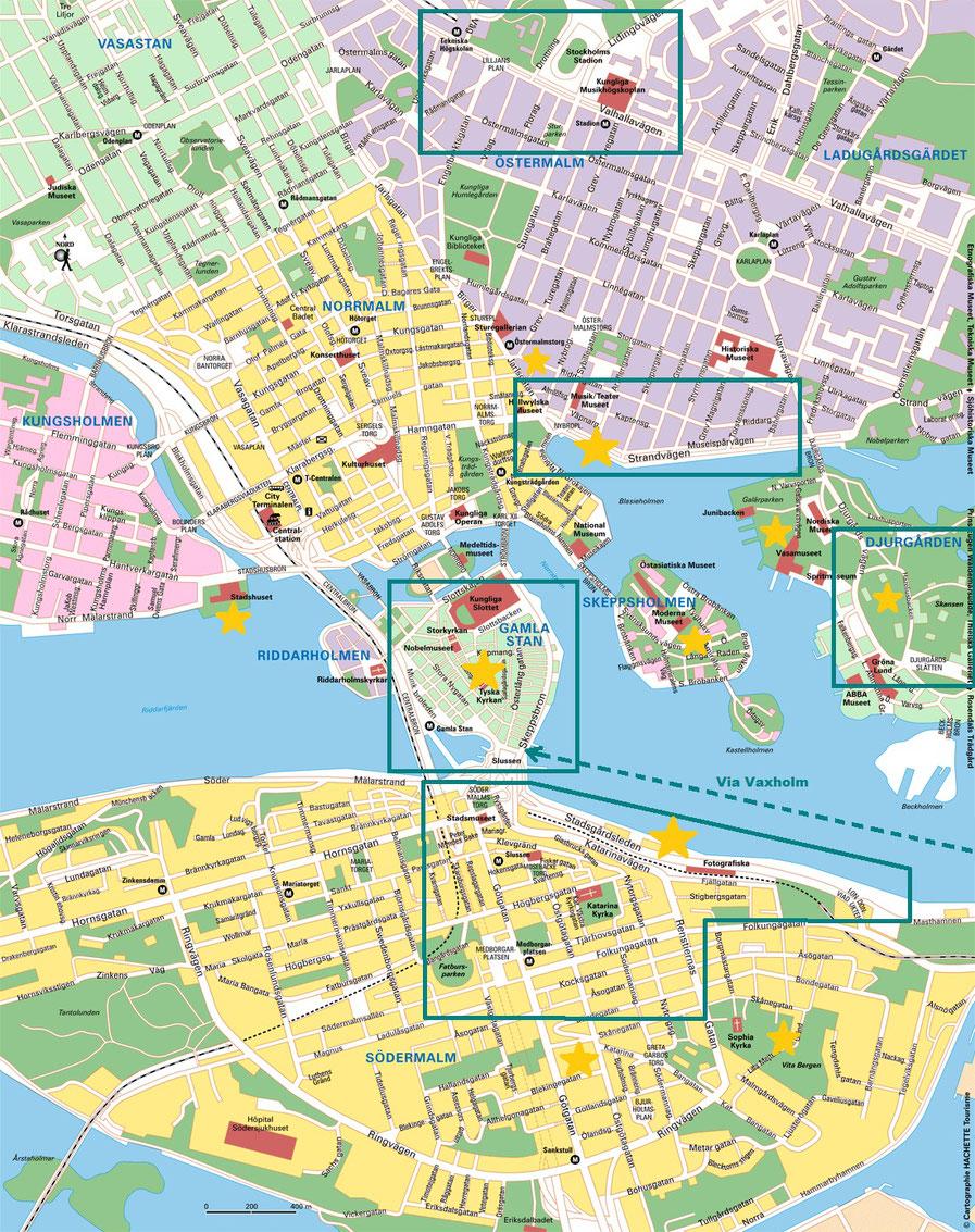 carte stockholm