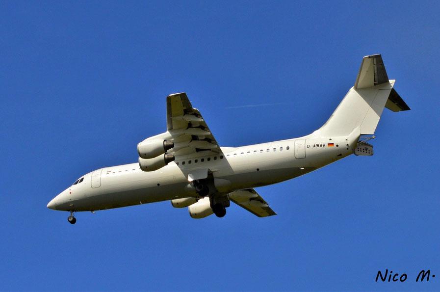 BAe146-300 (D-AWBA)