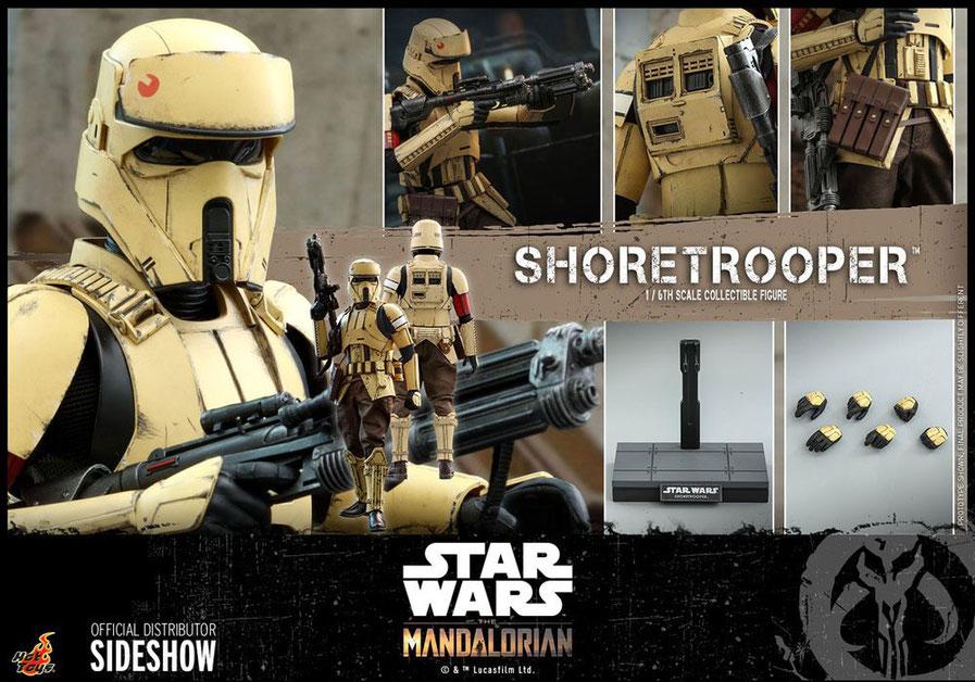 Shoretrooper 1/6 Star Wars The Mandalorian Actionfigur 30cm Hot Toys