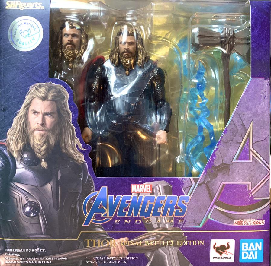 Thor Final Battle Edition Avengers: Endgame S.H. Figuarts Marvel Actionfigur 17cm Bandai Tamashii Nations