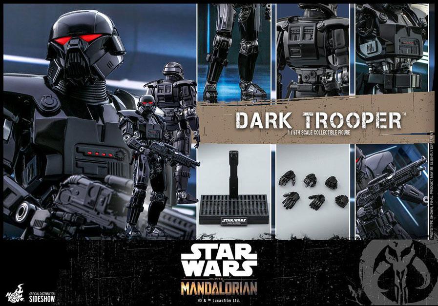 Dark Trooper 1/6 Star Wars The Mandalorian Actionfigur 32cm Hot Toys