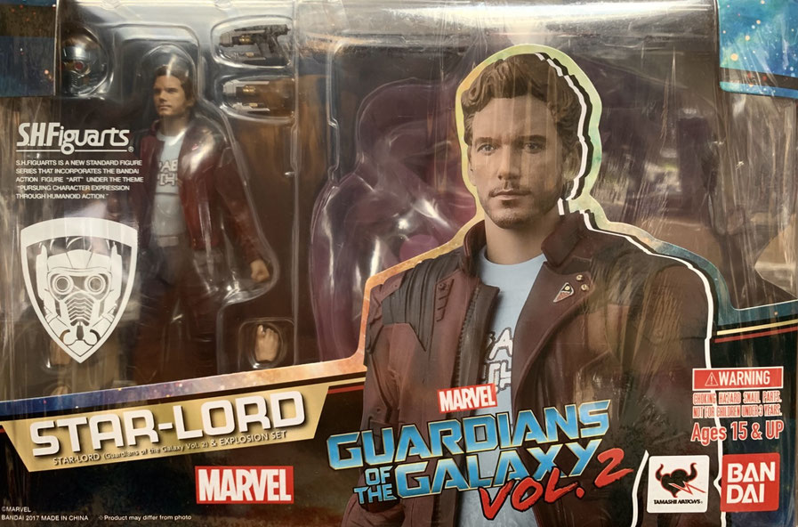 Star-Lord & Explosion Guardians of the Galaxy Vol. 2 Marvel Actionfigur 17cm S.H. Figuarts Bandai Tamashii Nations