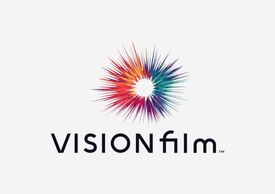 Vision Film Logo by Maria Grønlund