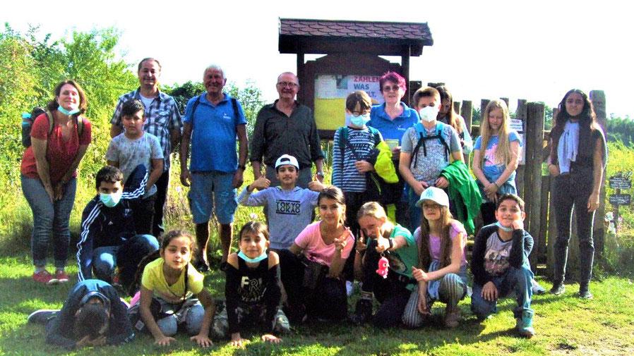 Viele Informationen für die Kinder gab es im Schmetterlingsgarten (Foto: Stadtjugendpflege)