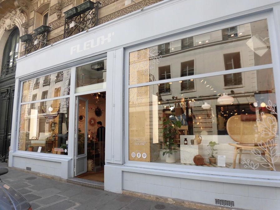 パリの有名雑貨店 FLEUX