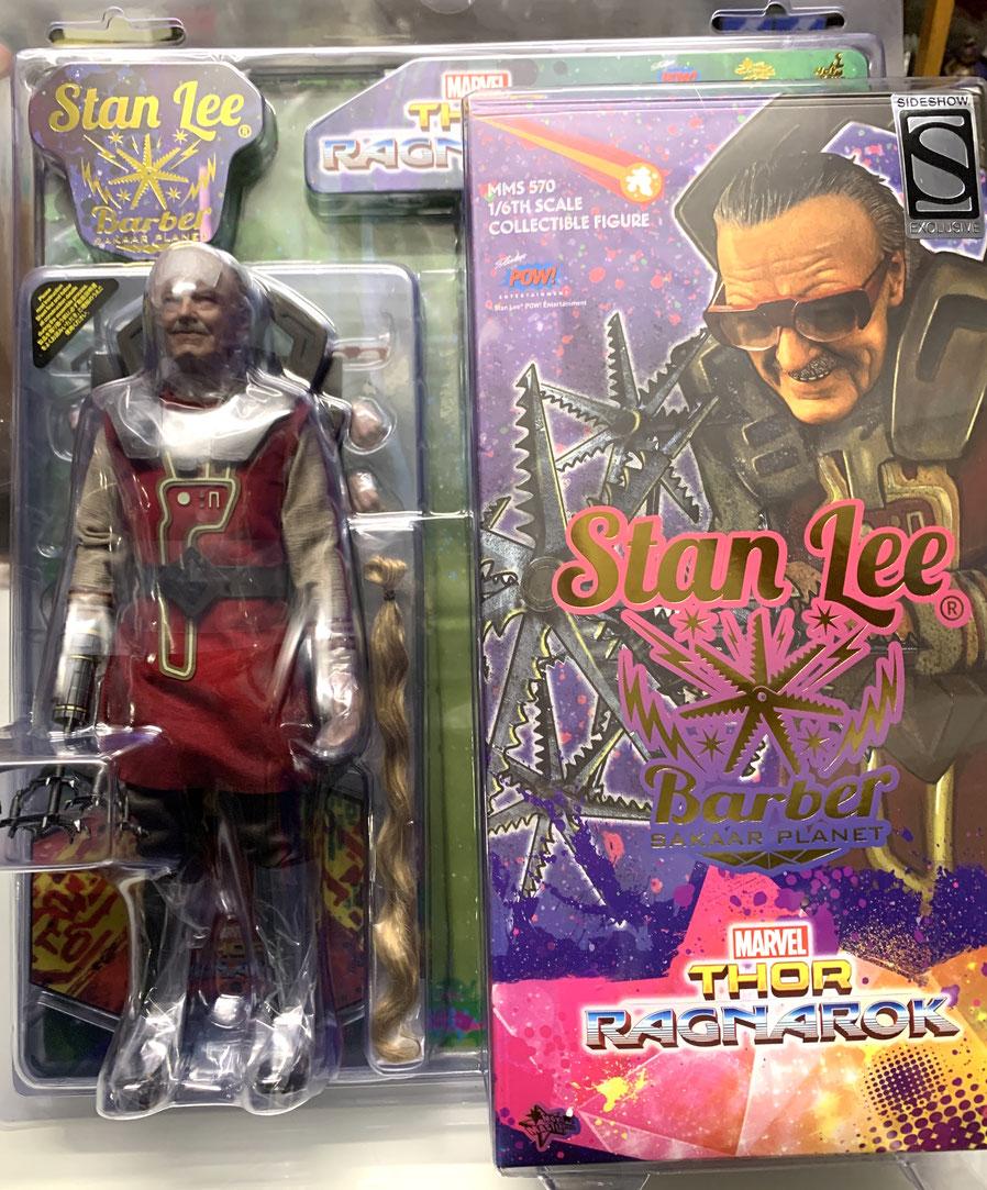 Stan Lee 1/6 Thor Ragnarok Movie Masterpiece Actionfigur Sideshow Exclusive 30cm Hot Toys