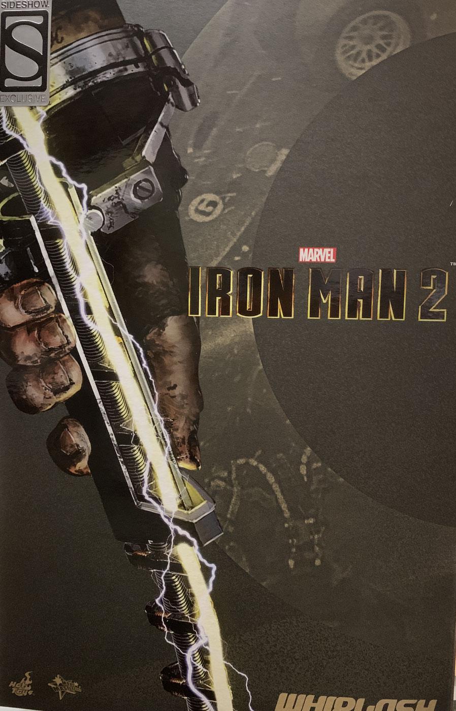 Whiplash 1/6 Iron Man 2 Movie Masterpiece Marvel Actionfigur 2020 Toy Fair Exclusive 30cm Hot Toys