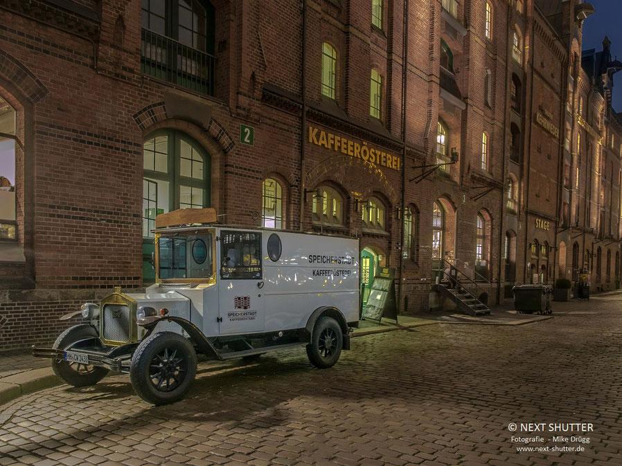 Die Kaffeerösterei in der historischen Speicherstadt