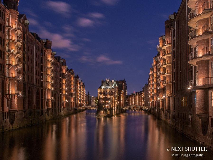 Wasserschloss, Speicherstadt, Hamburg, Weltkulturerbe,