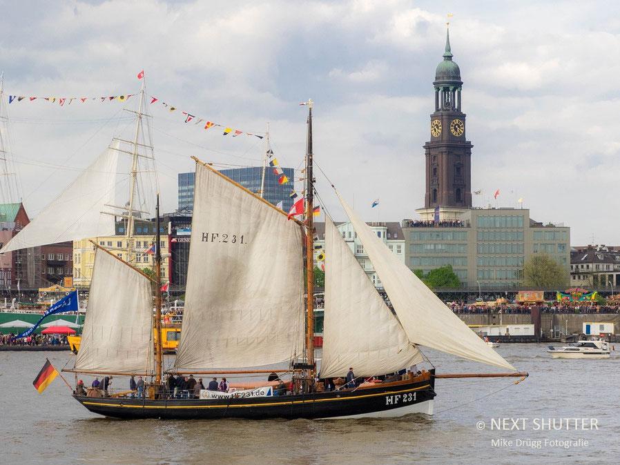 historisches Fischerboot
