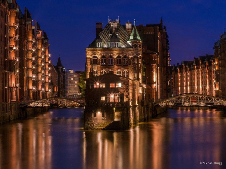 Wasserschloss, Hafen,Hamburg,Speicherstadt