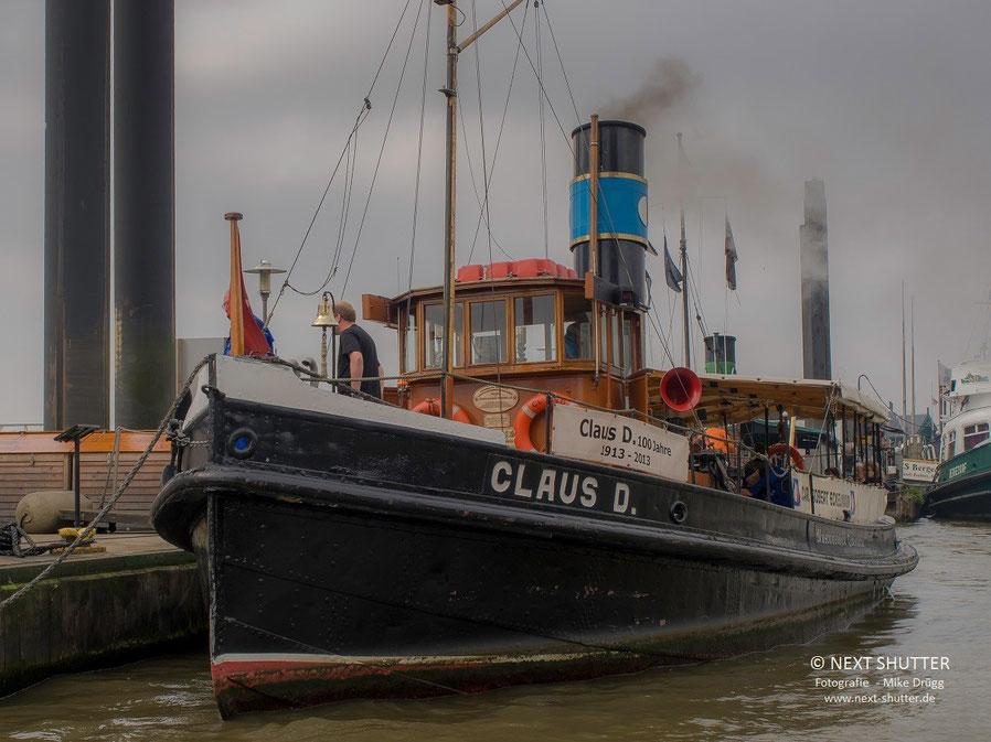 """Der historische Dampfschlepper """"Claus D"""""""
