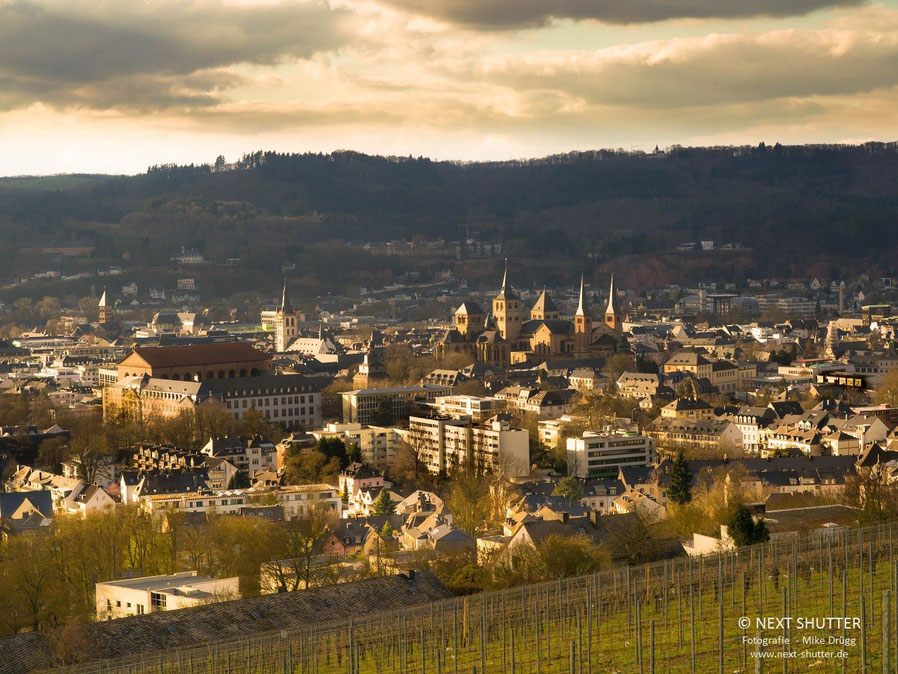 Blick vom Petrisberg auf die Altstadt