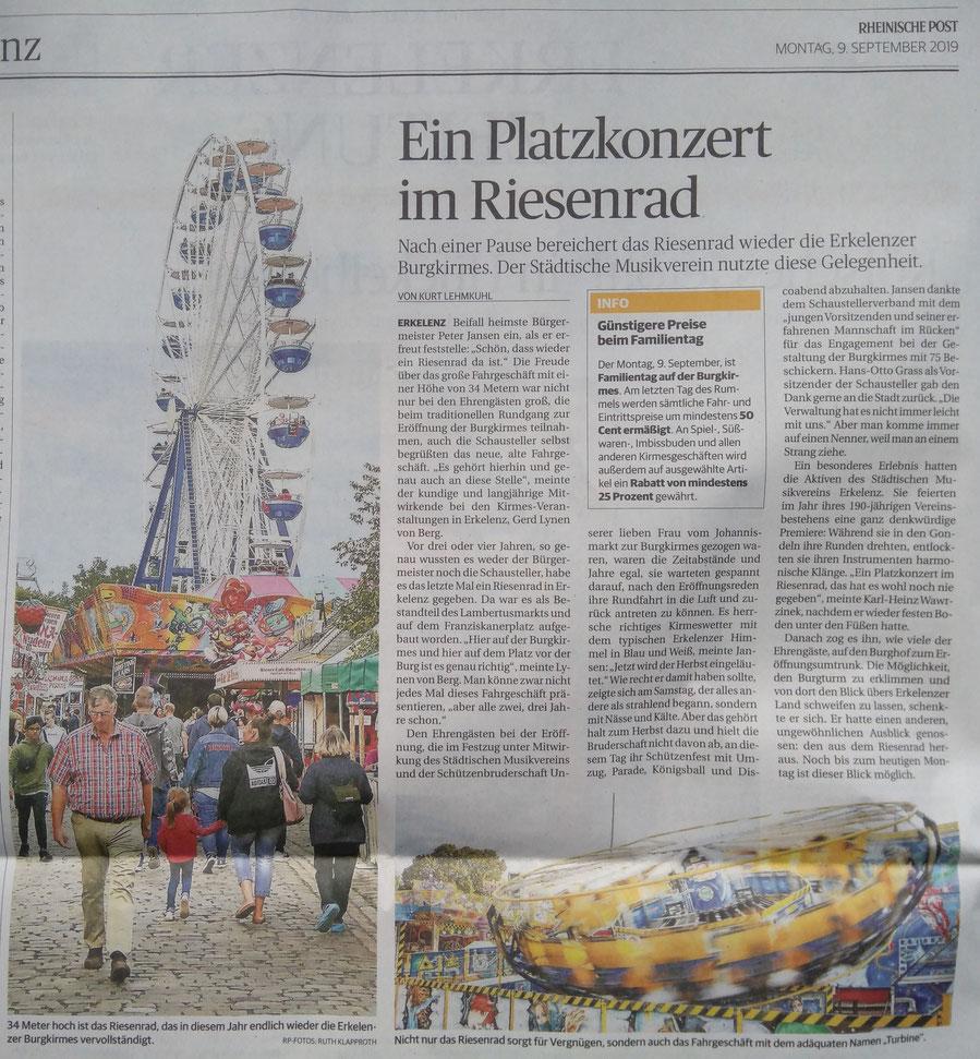 Rheinische Post 9.9.2019