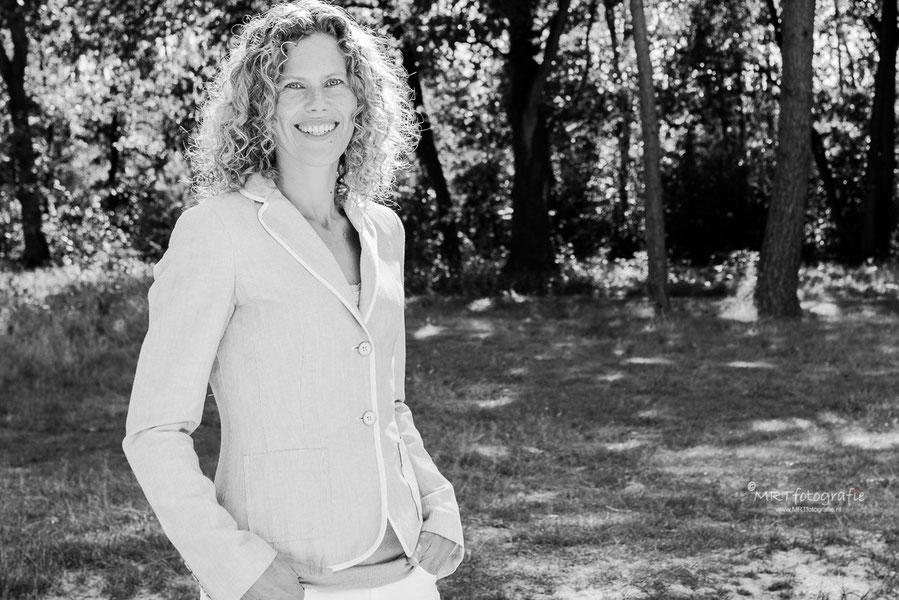 Profielshoot MRTfotografie in Den Treek zwart/wit
