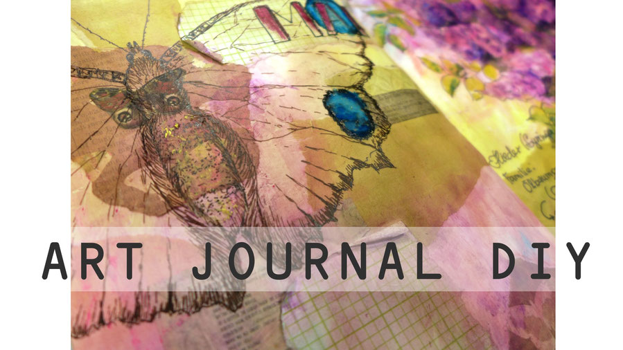 Art Journal - Mein Gartenjahr - Mai - DIY-Projekt