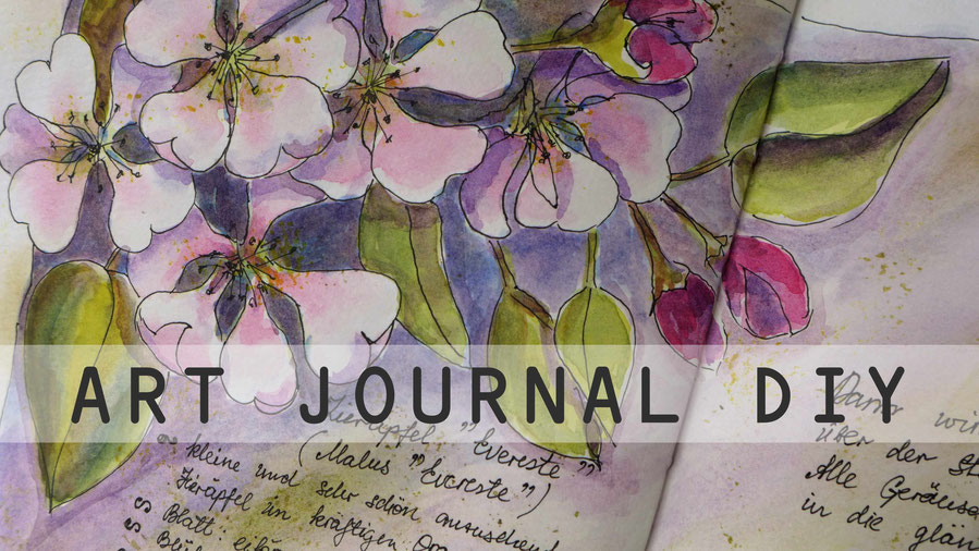 Art Journal - Mein Gartenjahr - April - DIY-Projekt