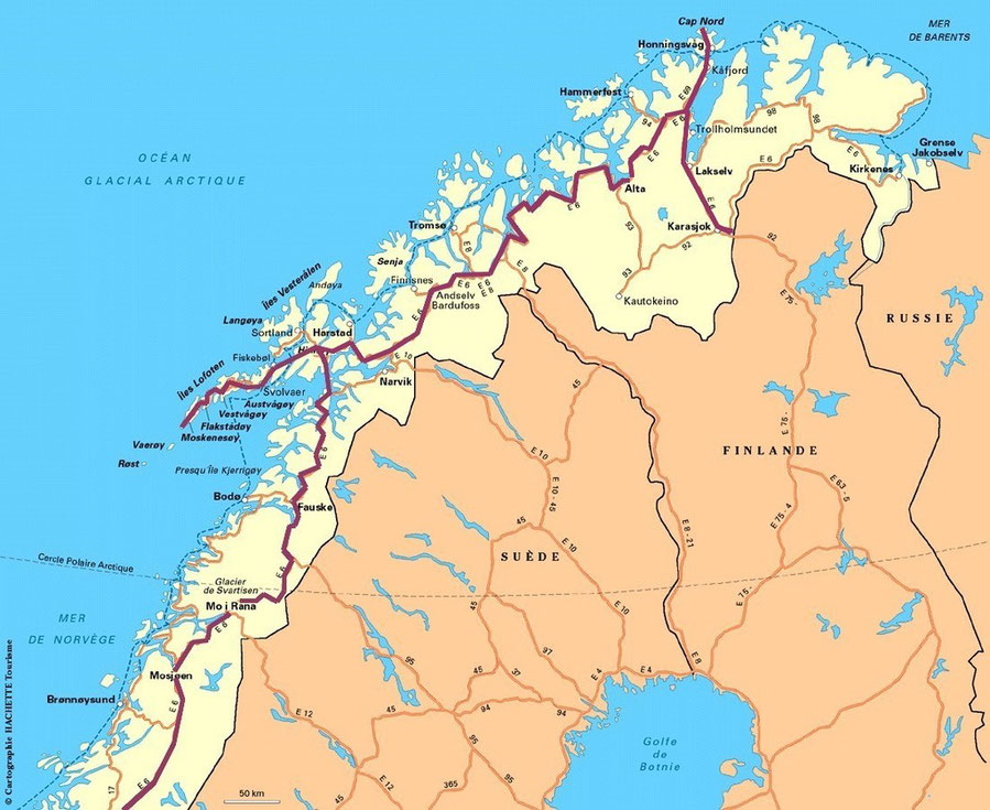 bigousteppes carte norvège routard