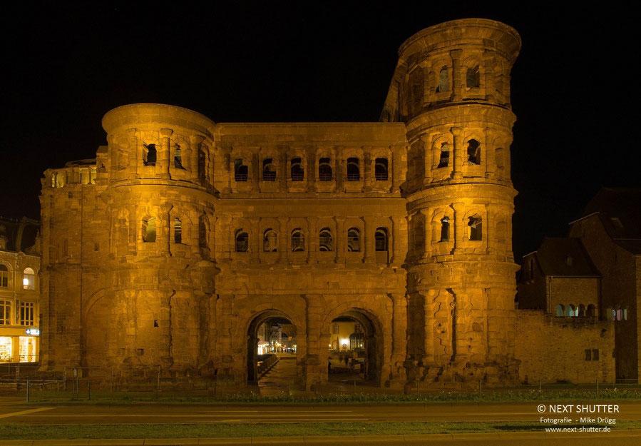 Das sicher bekannteste Bauwerk der Stadt : die Porta Nigra