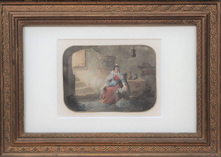 te_koop_aangeboden_een_aquarel_op_papier_van_de_nederlandse_kunstenaar_hendricus_johannes_scheeres_1829-1864