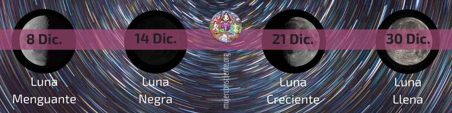 Lunario Agosto 2019 Mujer Consciente - mujerconsciente.org