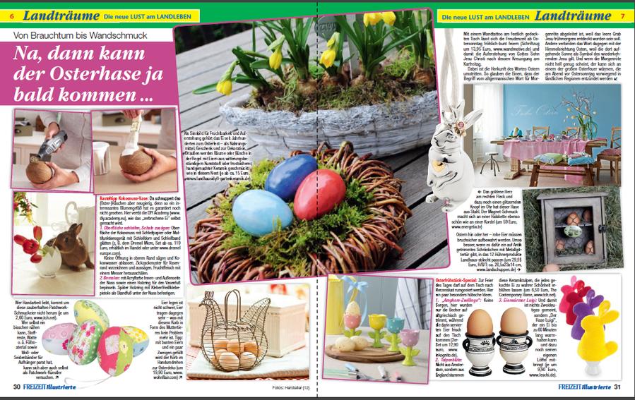 Pressebericht Freizeit Illustrierte Ostern 2015