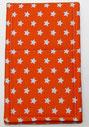 Nr.27 Sternchen orange Baumwolle