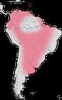 Karte zur Verbreitung der Wehrvögel
