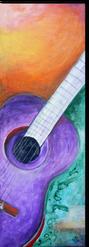 Gemälde, Leinwand, Kunst, art, Augenfreud, Original, Unikat, Acryl, Musik, Gitarre, Malerei, abstrakt, bunt
