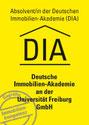 Abschluß zum Immobilienwirt an der Deutschen Immobilien Akademie an der Universität Freiburg (DIA)