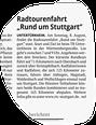 Stuttgarter Zeitung 07.08.21
