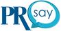 PR say logo