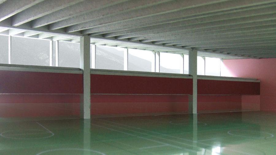 Schulsporthalle Brig, Amrein Kohne