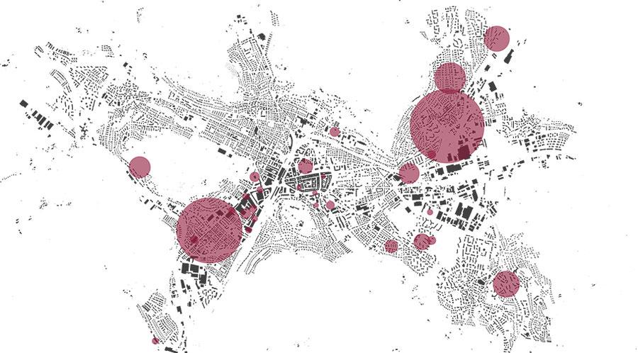 ZHAW Ausstellung Forum Architektur Winterthur Retrospektive