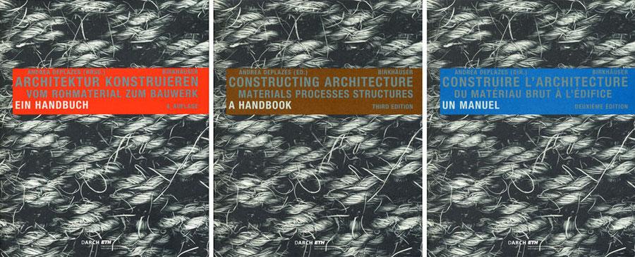 Architektur konstruieren, Handbuch, Deplazes, Kohne Andreas