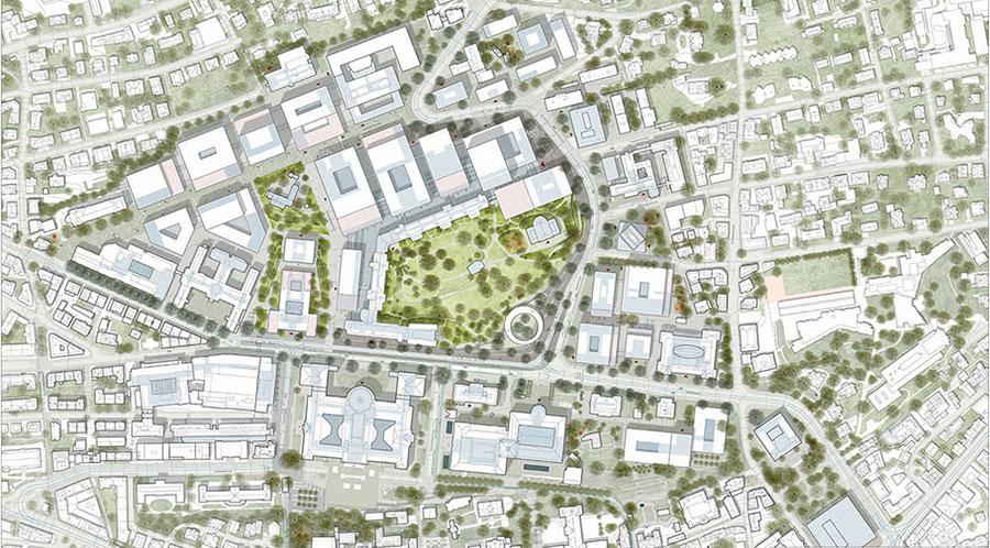 Situationsplan Team KCAP Architects & Planners mit Studio Vulkan