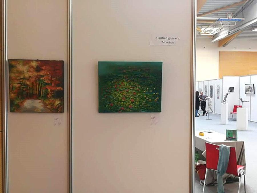 Ausstellung Art Brüggen mit Kunstrefugium, 25.08. - 26.08.2018, Bildquelle Christina Kilg