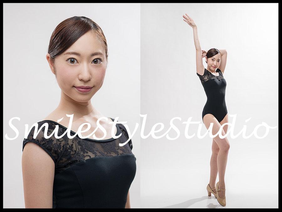 ミュージカルダンサーオーディション用 全身・UP写真とデータのセットプラン「ステージ」11,000円 ヘア&メイク9,000円より。