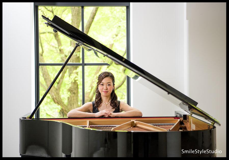 音楽家 ピアニストプロフィール写真