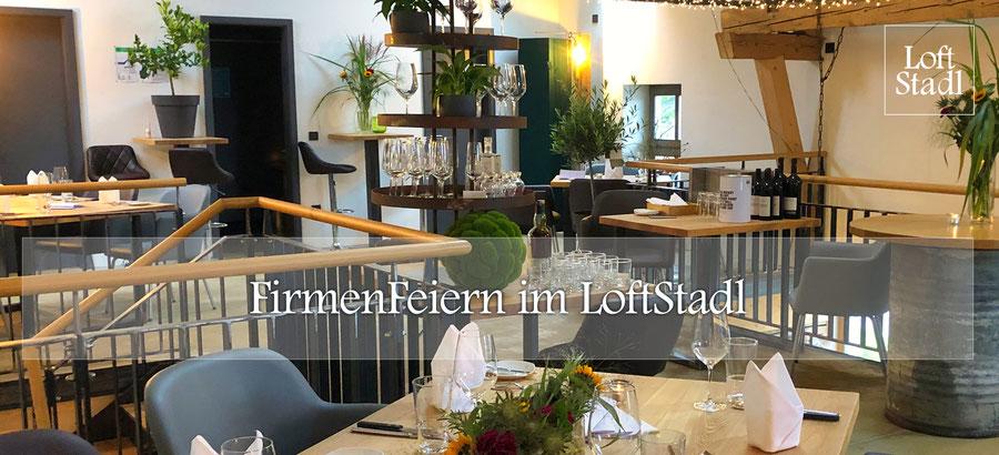 FirmenFeiern im LoftStadl in Landshut