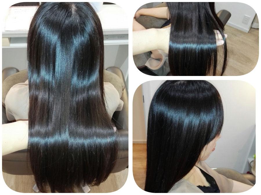 ストレート/群馬県高崎市で人気の髪質改善美容室ロリポップ