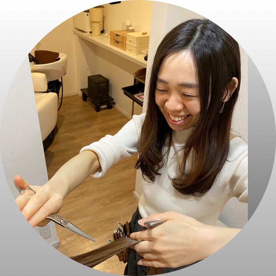 髪のダメージ、髪のパサつき改善美容室ロリポップ/カウンセリング画像